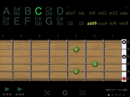 Guitar Chords iPad Screenshot 3