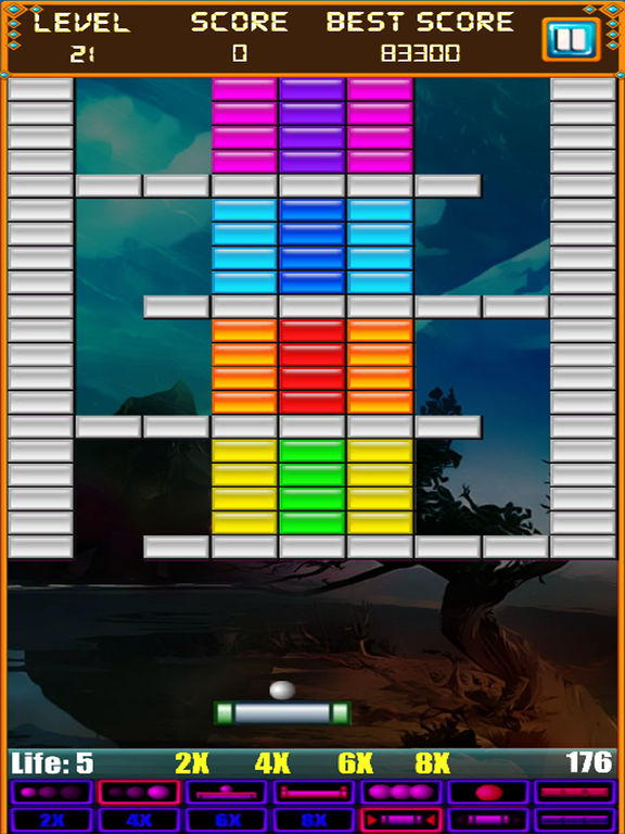 Brick Breaker: Super Breakout Retro для iPad
