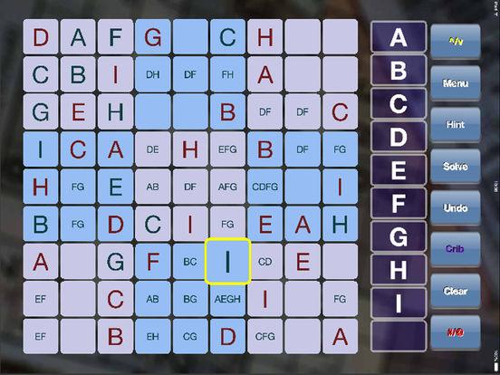 Sudoku SuperDoKu iPad iPad Screenshot 1