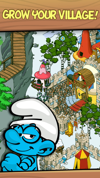 Smurfs' Village iPhone Screenshot 2