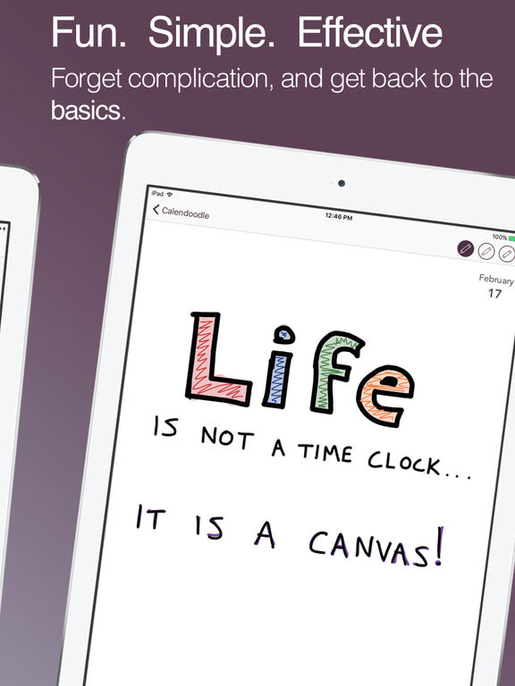Calendoodle - The Pen & Ink Whiteboard Calendar Screenshots