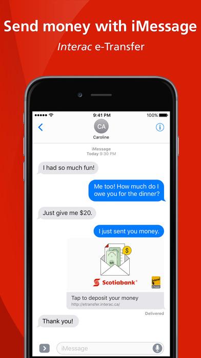 Scotiabank iPhone Screenshot 6