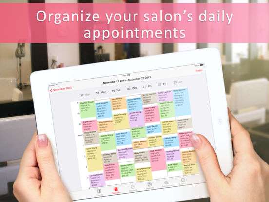 Salon appointment manager on the app store for X salon mulund rate card