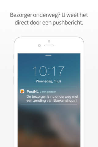 PostNL screenshot 4