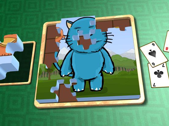 Jigsaw Solitaire Cartoons screenshot 8