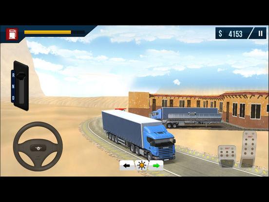 Arab Cargo Truck Driving Simulator Pro screenshot 9