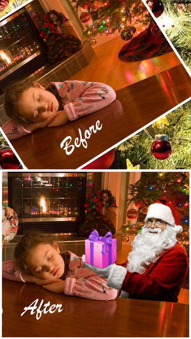 Snap Santa -Catch Santa In Your House On Christmas screenshot 1