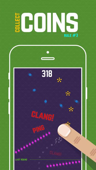 Finger Hero: Avoid Obstacles Screenshot