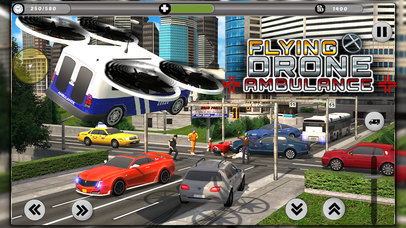 Flying Drone Ambulance screenshot 1