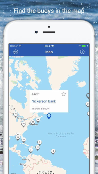 NOAA Buoys PRO Live Marine Weather App Download - Android APK
