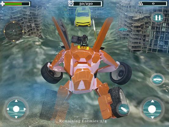 Underwater Robot Car Transformation screenshot 9