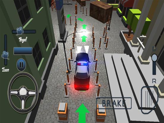 Modern Police Car Parking Simulator Pro screenshot 7