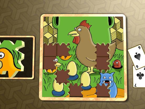 Jigsaw Solitaire Cartoons screenshot 9