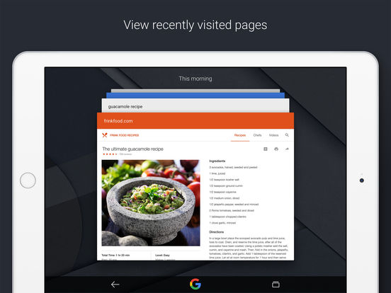 Google — Search made just for mobile Screenshots
