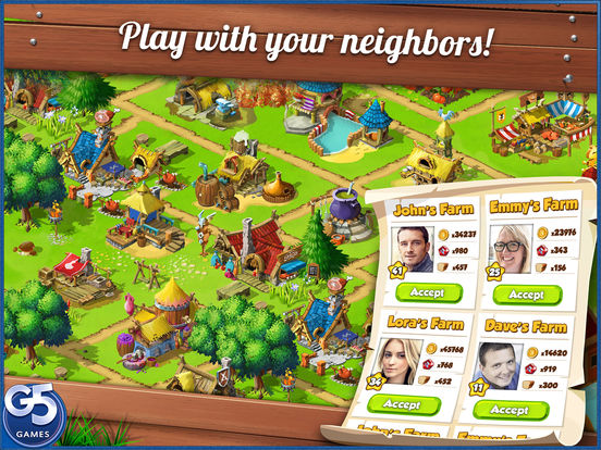 Screenshot #4 for Farm Clan®: Farm Life Adventure