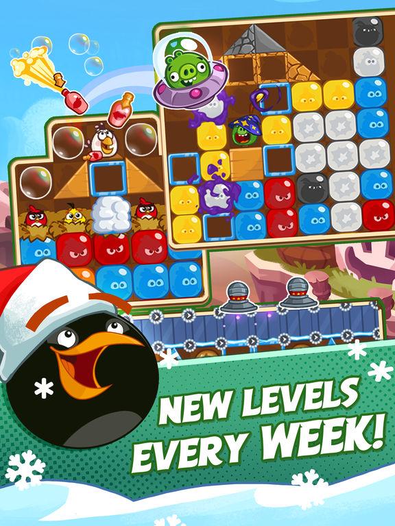 دانلود بازی جذاب Angry Birds Blast برای آیفون، آیپاد و آیپد - تصویر 2