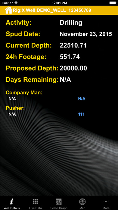 RigWatch Pulse iPhone Screenshot 3