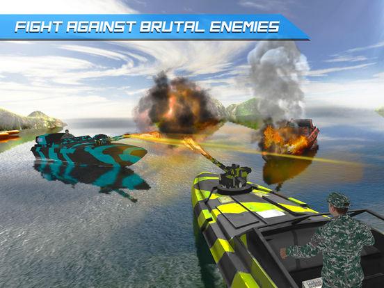 Игра Армия Лодка Море Пограничный патруль - Современная