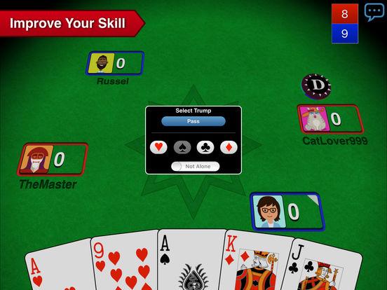 Euchre 3D iPad Screenshot 3