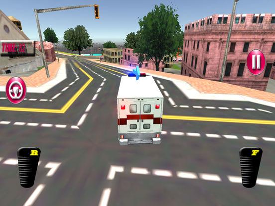 Fast Ambulance Rescue Duty 3D Pro screenshot 9