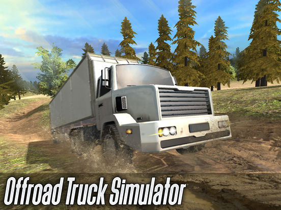 Offroad Cargo Truck Simulator 3D Full screenshot 5