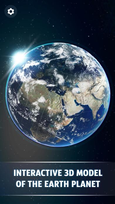 Screenshot #4 for Globe 3D - Planet Earth