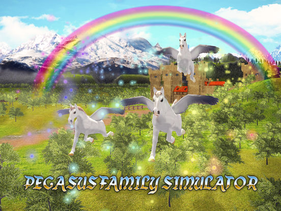 Pegasus Family Simulator Full screenshot 5