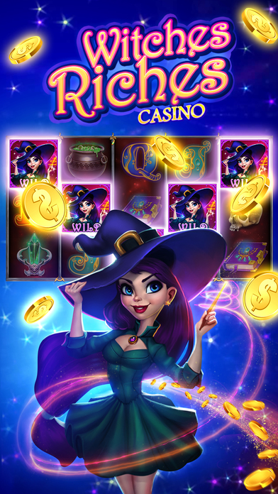 Screenshot 1 СЛОТЫ! Ведьмы Богатства: Лаки Win Игровые автоматы