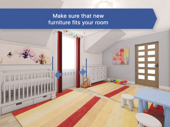 App shopper 3d baby kids room for ikea interior for Ikea room design app