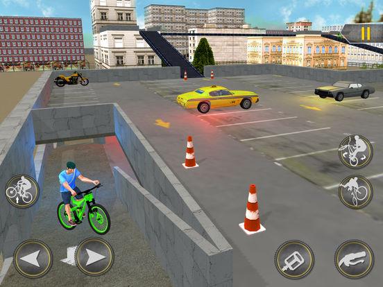Игра Rooftop Bicycle Stunts Simulator 2017