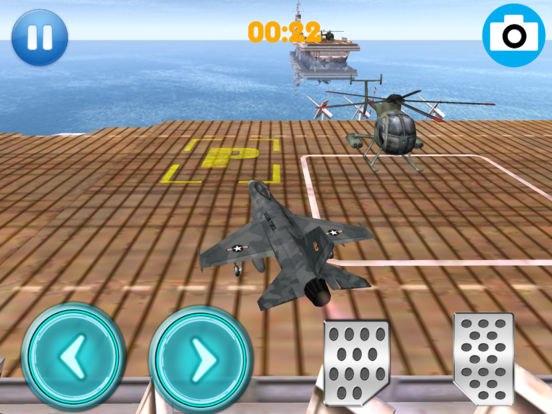 App Shopper Flying Plane Cruise Ship Parking Simulation