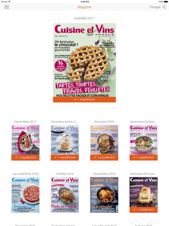 Cuisine et vins de france on the app store - Cuisine et vins de france ...