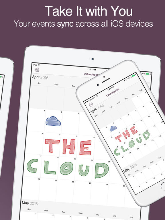 Calendoodle - The Pen & Ink Whiteboard Calendar Screenshots