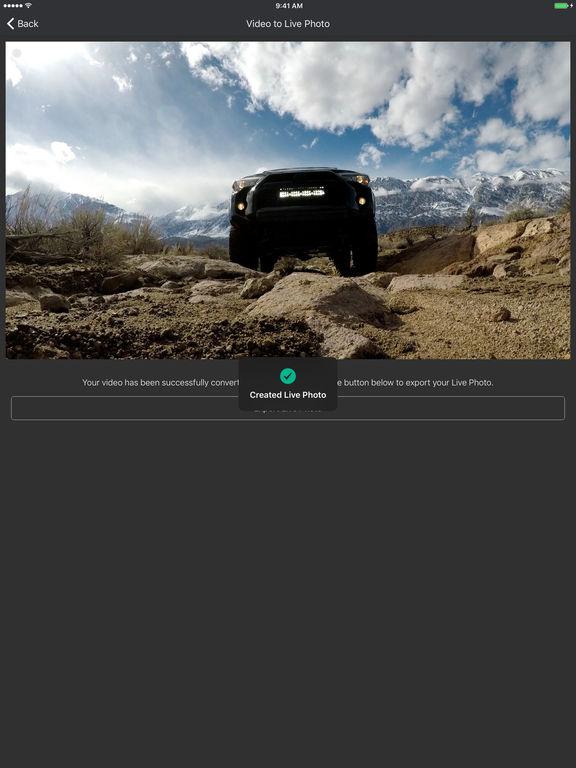 Live Studio - Converter for Live Photos Screenshots