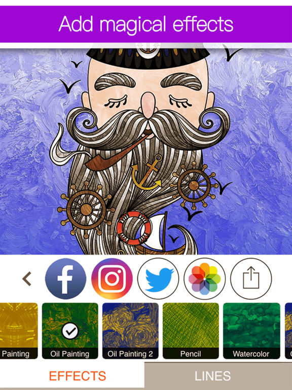 Colorfly : Coloring Book for Adults - Free Gamesscreeshot 4
