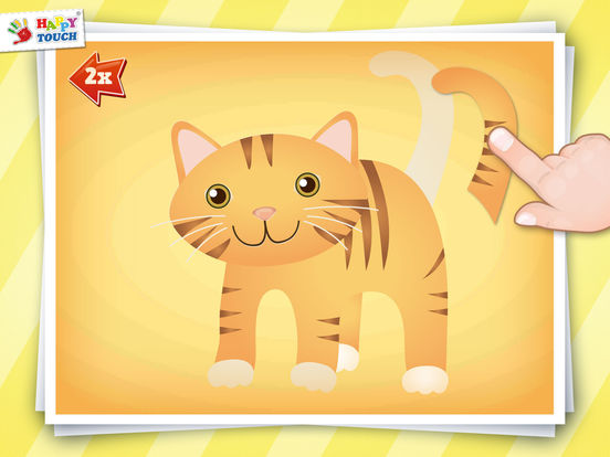 Animated Animal Puzzle for kids by HAPPYTOUCH®