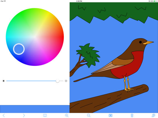 My Coloring Book Free iPad Screenshot 1