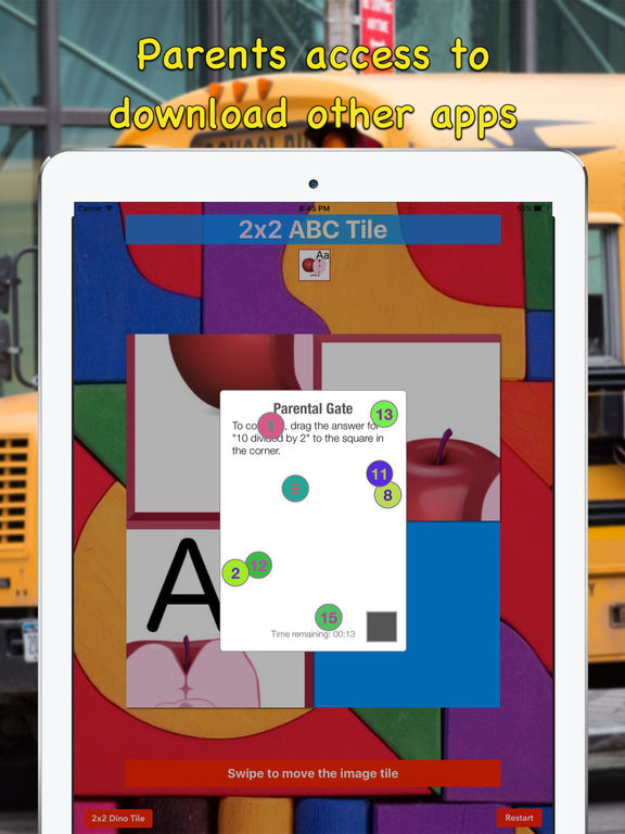 Best 2x2 Alphabet Sliding Tile Puzzle for Toddlers Screenshots