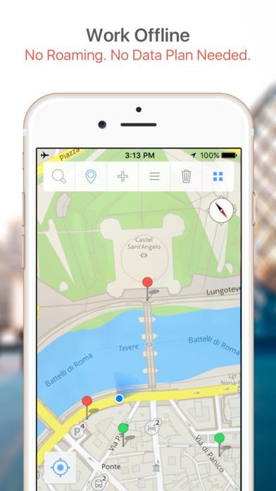 Pittsburgh Walking Tours and Map iPhone Screenshot 2