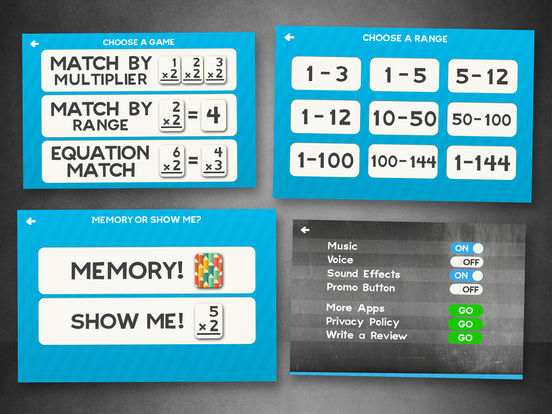 Multiplication Flash Cards Games Fun Math Practicescreeshot 4