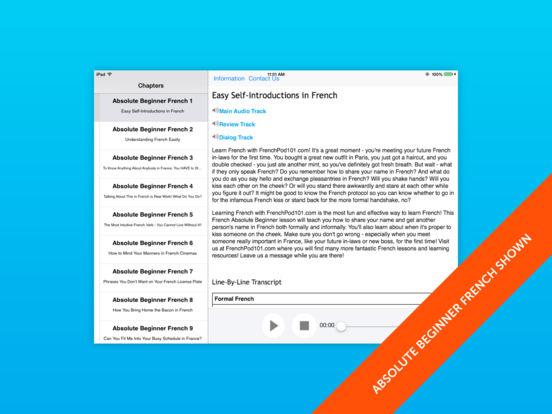 Spanish Lower Beginner for iPad iPad Screenshot 1