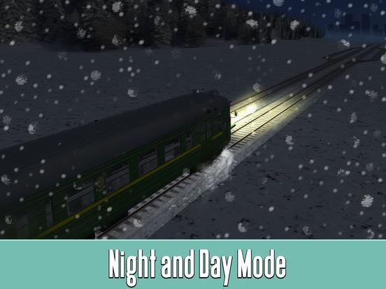 Russian Railway Train Simulator 3D Full screenshot 7