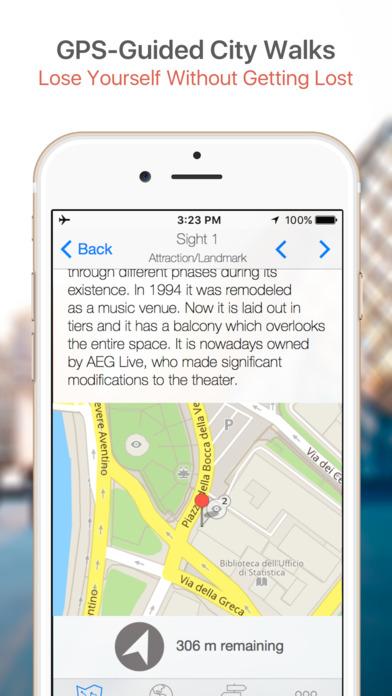 Atlanta Walking Tours and Map iPhone Screenshot 3