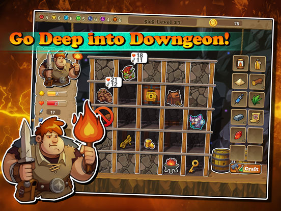 Downgeon Quest на iPad