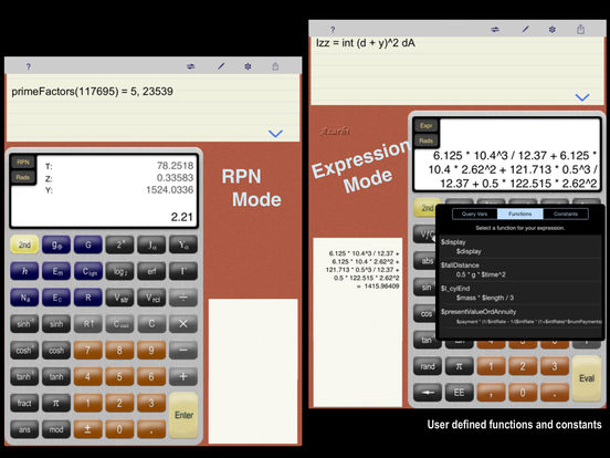 Scientific Expression Calculator iPad Screenshot 3