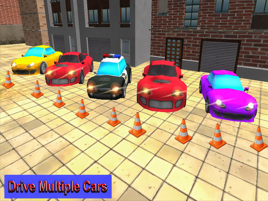 Cartonic Car Racing iPad Screenshot 3