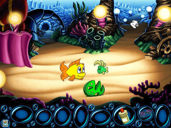 Скачать игру Freddi Fish 5: The Creature of Coral Cove