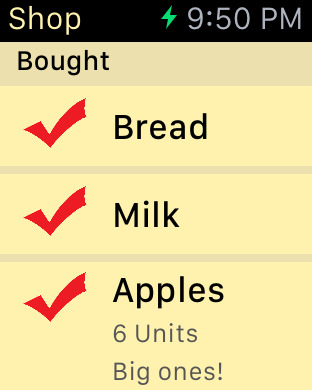Shopping List - quick and easy iPhone Screenshot 9