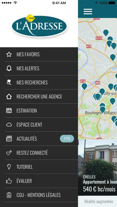 L'Adresse - Réseau immobilier screenshot 4