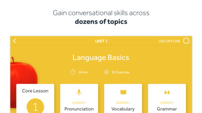 Learn Languages with Rosetta Stone app image